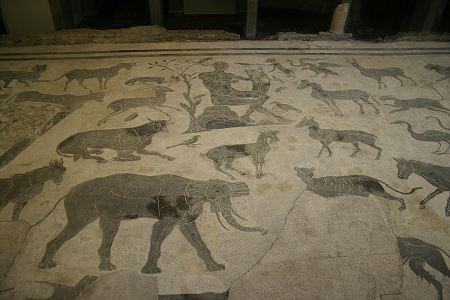 Mosaico di Orfeo e le fiere